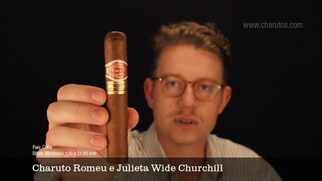 Charuto Romeu e Julieta Wide Churchill