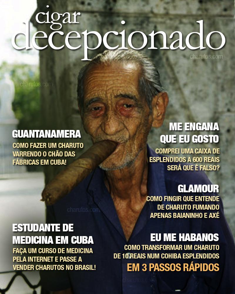 Humor - Cigar Decepcionado