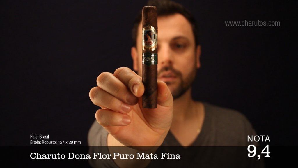 Video Charuto Dona Flor Puro Mata Fina