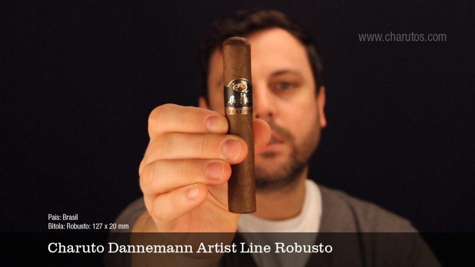 Charuto Dannemann Artist Line Robusto